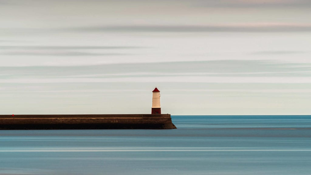 Spittal - My shot of Berwick lighthouse