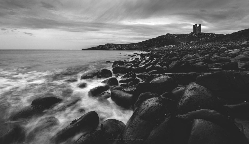 Northumberland Dunstanburgh coast and castle