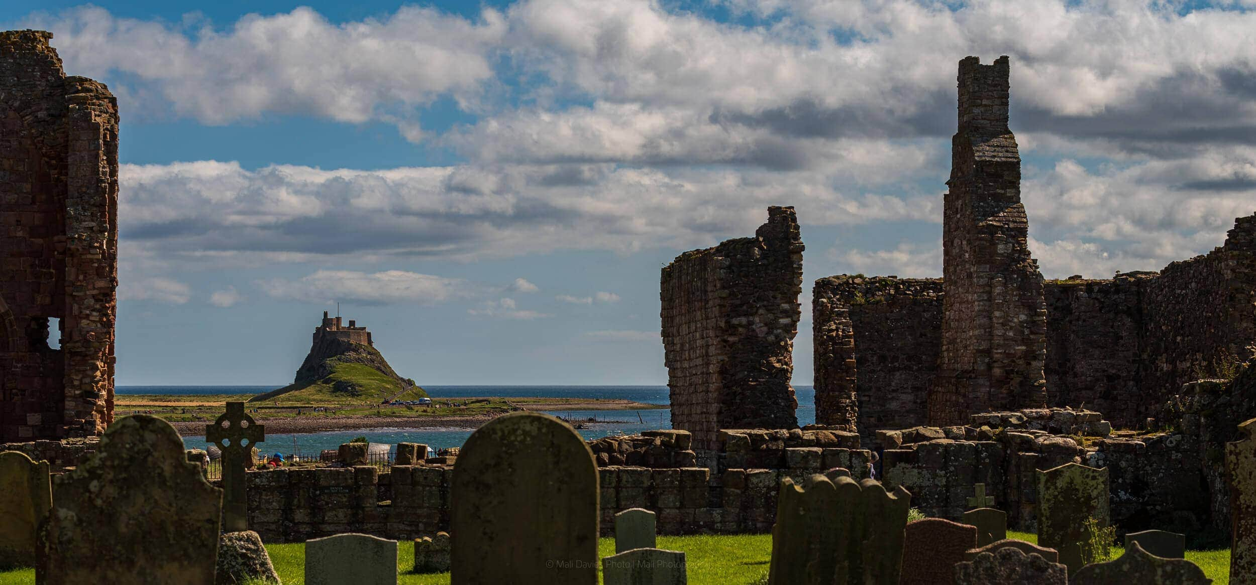 Looking to Holy Island Castle