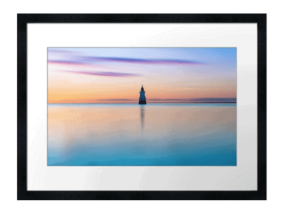Plover-Scar-Lighthouse-The-Abbey Art Print