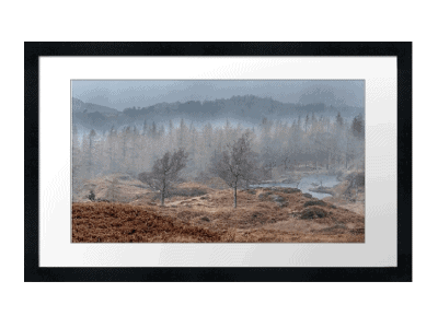 Together we stand - Holme Fell Framed Art Print